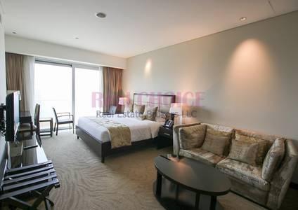 Hotel Apartment for Rent in Dubai Marina, Dubai - High Floor Studio Luxury Unit|Marina View
