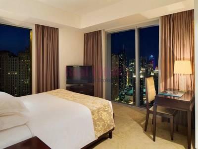 Hotel Apartment for Rent in Dubai Marina, Dubai - Luxury Furnished Studio Unit|High Floor