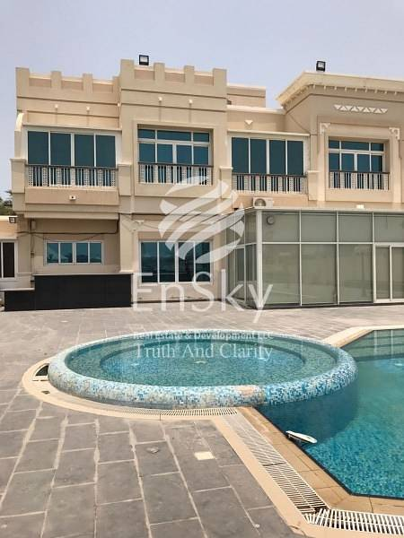 Luxurious 5 Bedroom Villa with Private Beach Access