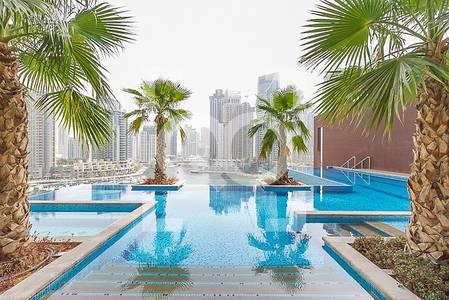 "2 Bedroom Flat for Sale in Dubai Marina, Dubai - ""0"" COMMISSION|LUXURY|PARTIAL POOL VIEW"