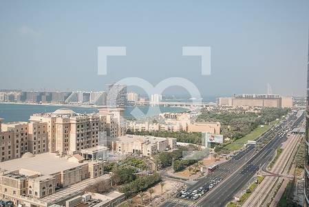 3 Bedroom Flat for Rent in Dubai Marina, Dubai - Fully Furnished | Vacant |  Sea View | Next to Tram
