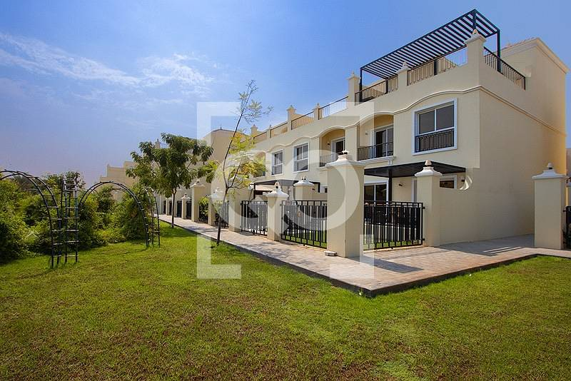 Upgraded and Amazing 3BR+Maid's Villa in Al Hamra Village