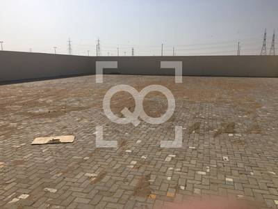 Plot for Rent in Al Saja, Sharjah - Open Yard | 115KW Power | 54000 sq.ft. | 2 Offices