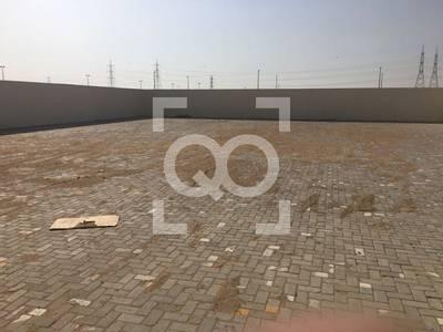 ارض تجارية  للايجار في السجع، الشارقة - Open Yard | 115KW Power | 54000 sq.ft. | 2 Offices