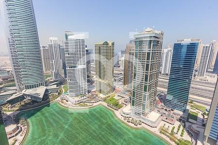 Office for Rent in Jumeirah Lake Towers (JLT), Dubai - 4 cheques   Fully Office Fitted   High Floor   JBC Tower 1