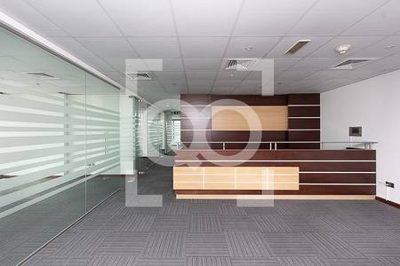 Office for Rent in Jumeirah Lake Towers (JLT), Dubai - Ready Fitted Office | Partitions | High Floor | JBC 3 Tower