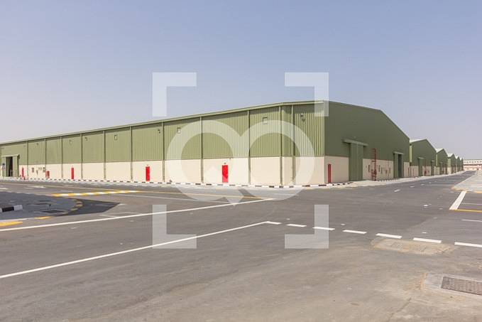 V.Large Warehouse Brand New 2 months Free for Rent in UAQ