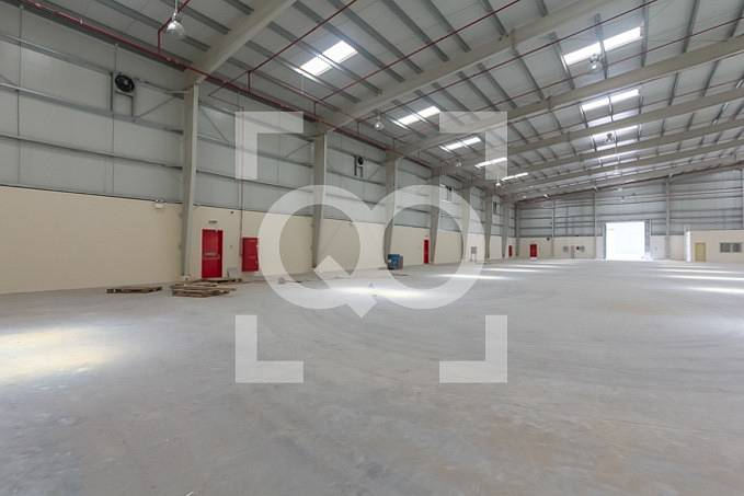 1 Medium Size Warehouse Brand New 2 months Free for Rent in UAQ