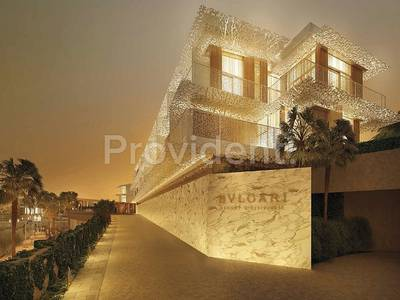3 Bedroom Apartment for Sale in Jumeirah, Dubai - Signature Bulgari Apts|20%DP|80% in 2yrs