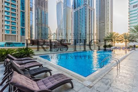 فلیٹ 2 غرفة نوم للايجار في دبي مارينا، دبي - 2 Bedroom | Balcony | Dubai Marina