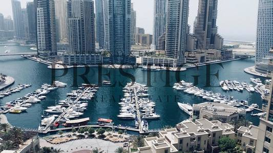 3 Bedroom Apartment for Rent in Dubai Marina, Dubai - Emerald Residence Dubai Marina View