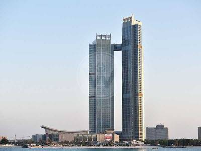 3 Bedroom Apartment for Rent in Corniche Area, Abu Dhabi - No Commission! | 3 Bed in Nation Towers!
