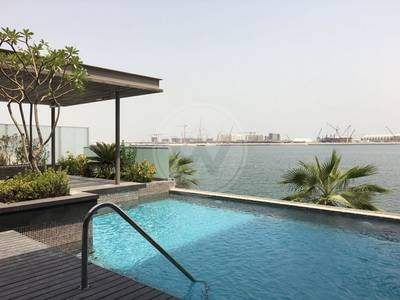 5 Bedroom Villa for Sale in Al Raha Beach, Abu Dhabi - VIP SEAFRONT VILLA | UNIQUE OPPORTUNITY!