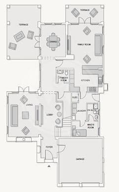 18 Extended villa on corner plot|Landscaped