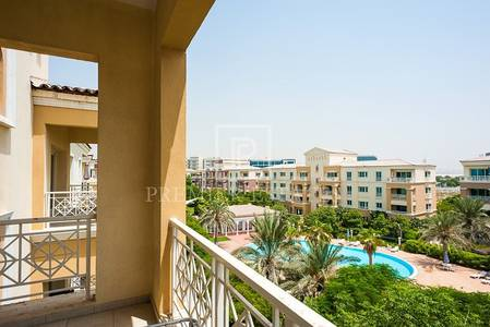 1 Bedroom Apartment for Sale in Green Community, Dubai - Exclusive Pool view