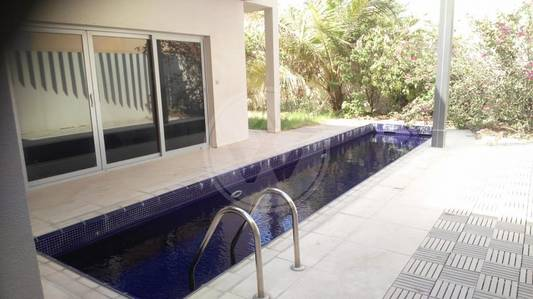 4 Bedroom Villa for Rent in Eastern Road, Abu Dhabi - Villa with a pool| Near Brighton College