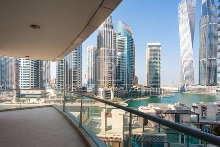 3 Bedroom Apartment for Sale in Dubai Marina, Dubai - Full Marina View