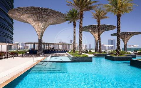 1 Bedroom Flat for Rent in Al Maryah Island, Abu Dhabi - ROSEWOOD Luxurious Home | 5* Facilities!