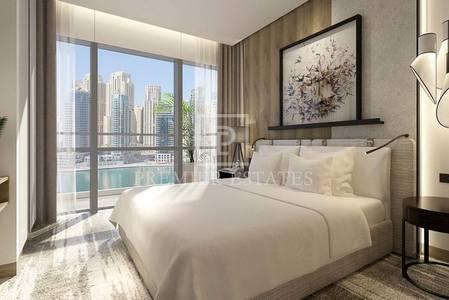 1 Bedroom Apartment for Sale in Dubai Marina, Dubai - Corner Unit facing marina I High returns