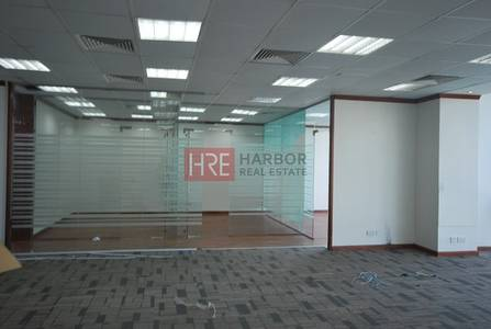 Office for Rent in Sheikh Zayed Road, Dubai - Rent Inclusive of Service Charges| Fully Fitted with Partitions