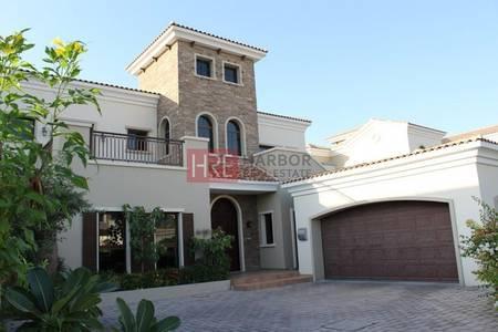 5 Bedroom Villa for Sale in Jumeirah Golf Estate, Dubai - Golf Course View|Unique Large Plot| Private Swimming Pool