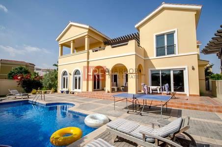 فیلا  للبيع في ذا فيلا، دبي - Best Price for Upgraded 5BR  Valencia in Prime Location