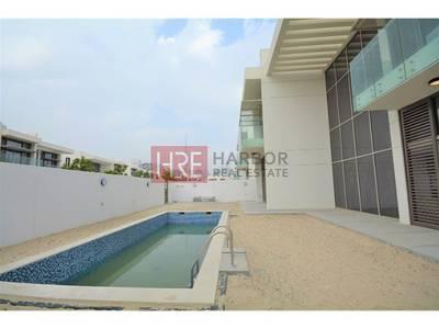 4 Bedroom Villa for Rent in Mohammad Bin Rashid City, Dubai - Negotiable Corner Burj Khalifa and Park View