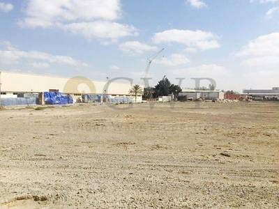 Plot for Sale in Emirates Modern Industrial Area, Umm Al Quwain - Plot for sale ideal for warehouse and building construction