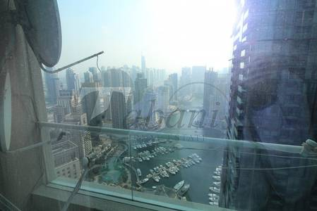 3 Bedroom Flat for Rent in Dubai Marina, Dubai - Furnished 3 beds for rent Great Layout in marina