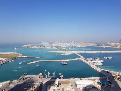 شقة 3 غرفة نوم للبيع في دبي مارينا، دبي - Beautiful Sea and Palm View