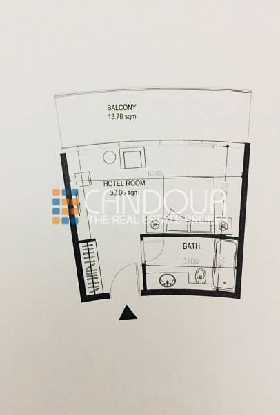 15 Spacious Hotel Apt| Studio Type A|Vacant