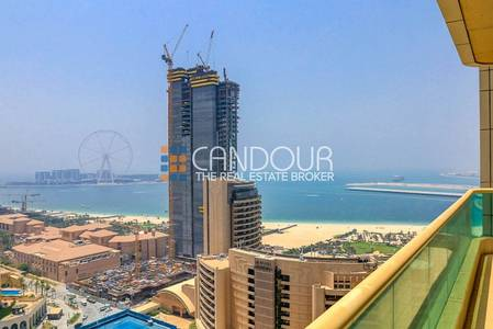 2 Bedroom Apartment for Rent in Dubai Marina, Dubai - Furnished 2 Bed | High Floor | Sea Views
