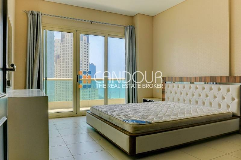 2 Furnished 2 Bed | High Floor | Sea Views