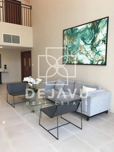Studio for Rent in Town Square, Dubai - Contemporary Living Studio in Town Square