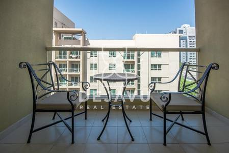 Studio for Rent in The Greens, Dubai - Furnished  and serviced |Greens Alka 3 | 1 Bedroom | Vacant