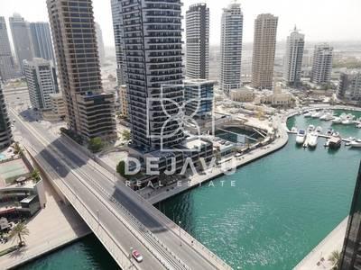3 Bedroom Flat for Rent in Dubai Marina, Dubai - Panoramic Marina View|3 Bedroom | Brand New