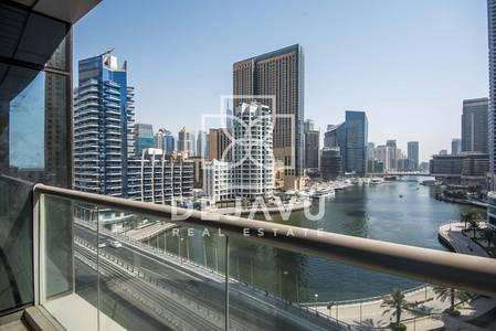 1 Bedroom Apartment for Rent in Dubai Marina, Dubai - 1BEDROOM I A/C FREE I BALCONY I MARINA VIEW