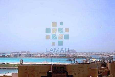 2 Bedroom Flat for Rent in Dubai Marina, Dubai - Unfurnished 2 Bedroom with Sea and Palm view TGR