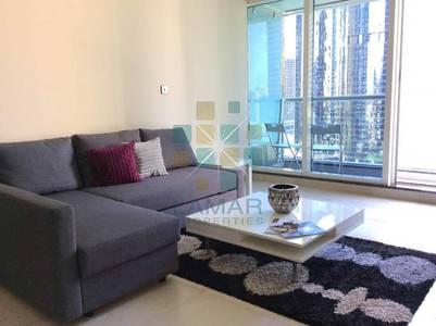 Studio for Rent in Jumeirah Lake Towers (JLT), Dubai - Full lake view furnished studio in Dubai Arch Tower