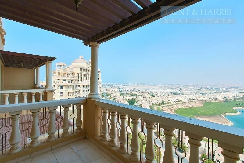 2 Stunning Lagoon and Golf Course Views -  Al Hamra Village
