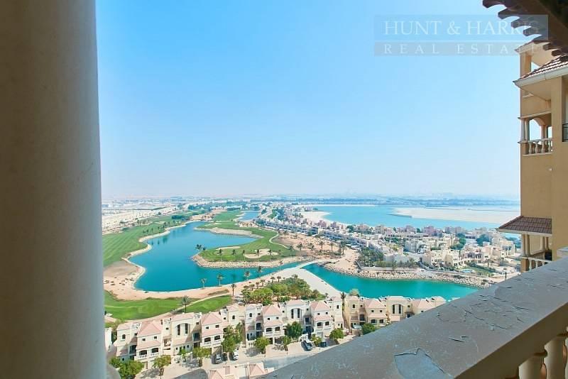 19 Stunning Lagoon and Golf Course Views -  Al Hamra Village