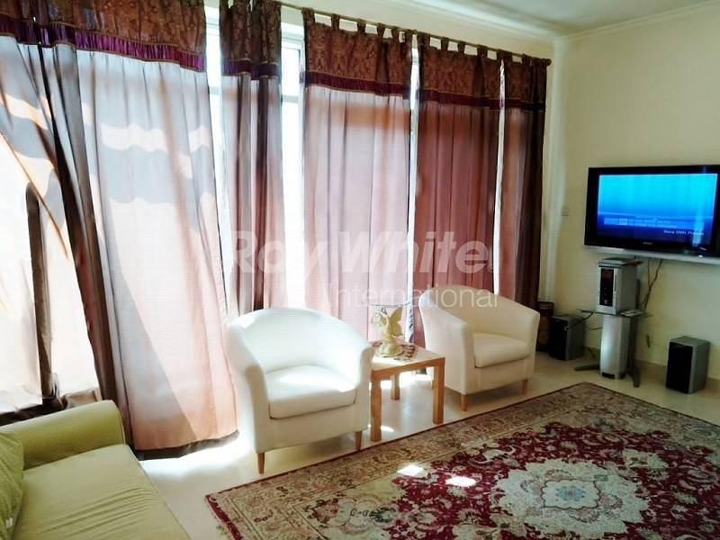 Well Lit  Furnished  1 BR In Burj Views