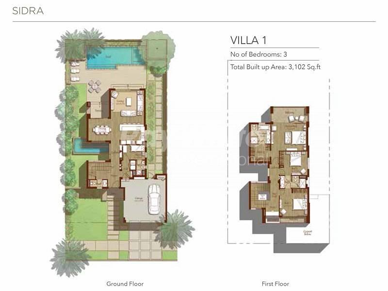 11 Well Lit Stunning 3 BR Villa+Maid