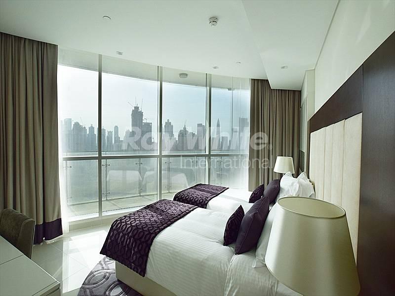 Elegant Service Apt. - Burj Khalifa View