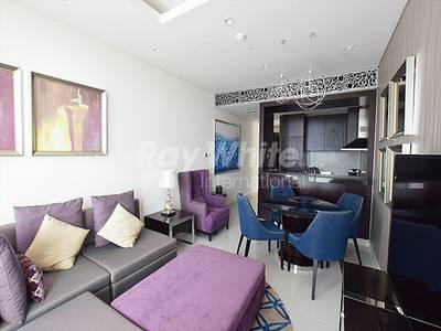 2 Bedroom Hotel Apartment for Sale in Downtown Dubai, Dubai - Elegant Service Apt. - Burj Khalifa View