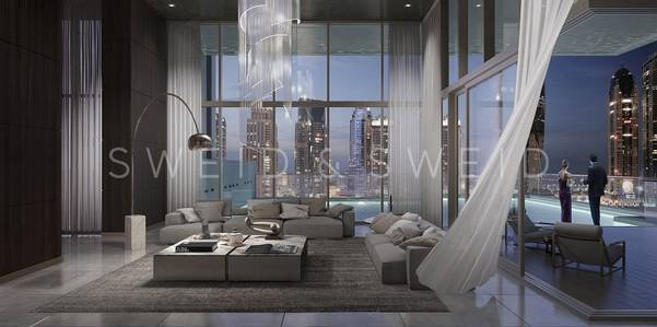 4 Bedroom Penthouse for Sale in Jumeirah Lake Towers (JLT), Dubai - Penthouse / Emirates Hills Views / Closed Kitchen