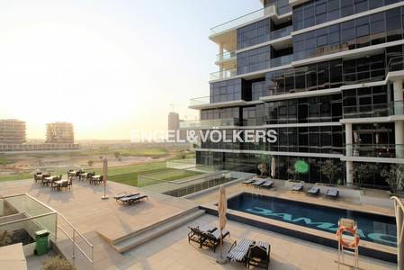 2 Bedroom Flat for Sale in DAMAC Hills (Akoya by DAMAC), Dubai - Vacant on Transfer   Golf and Pool Views