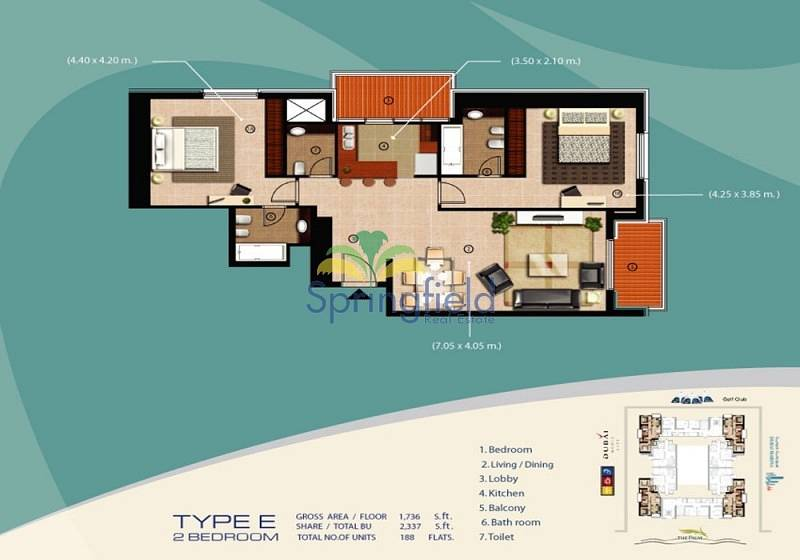 13 Partial Sea View | Located On High Floor