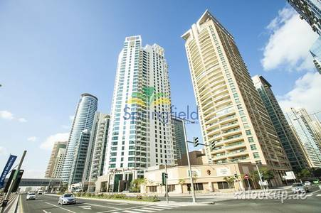 3 Bedroom Apartment for Rent in Dubai Marina, Dubai - Full Lake and SZR View | 3 BHK w/ Maids