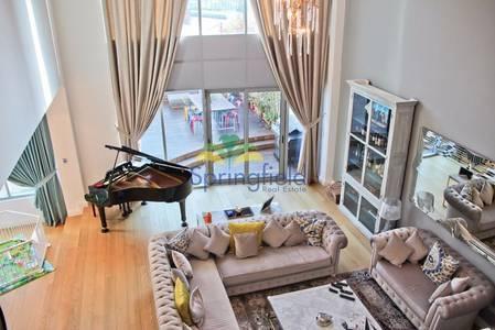 4 Bedroom Villa for Rent in Dubai Marina, Dubai - 4BR Waterfront Villa|Private Pool & Lift